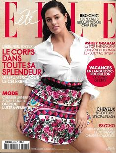 ELLE N°3734 14/07/2017 ASHLEY GRAHAM/ CORPS RADIEUX/ DUBAI FOOD TRIP/ TABOU ENCEINTE JAPON/ BARDOT