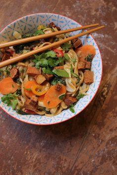 Gourmandises végétariennes: Asiatische One Pot Pasta