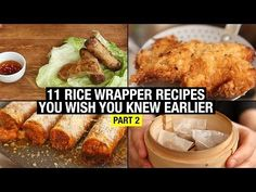 11 Recipes That Use Rice Paper Way Beyond Spring Rolls (part 2) - YouTube