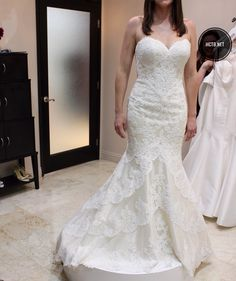 Trendy Wedding Dress at Here Comes the Bride in San Diego California Beautiful Wedding Dresses