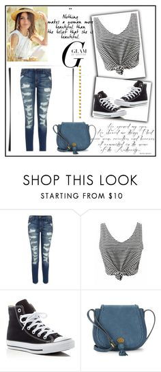 """""""Beautiful"""" by nejrasehicc ❤ liked on Polyvore featuring Current/Elliott, Converse and Nanette Lepore"""
