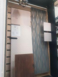 Sample pods to give customers inspiration Student Portfolios, New Wallpaper, Door Handles, Doors, Inspiration, Home Decor, Door Knobs, Biblical Inspiration, Decoration Home
