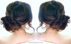 3-Minute Elegant Side Updo | Everyday Easy Hairstyles