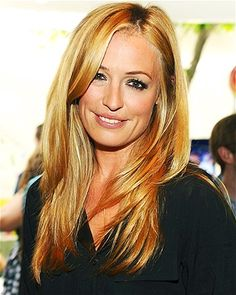 Choppy layers tapered a few inches from the bottom of the hair like Cat Deeley's add movement to lengthy strands.