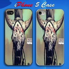 Buffalo Skull Farson Custom iPhone 5 Case Cover