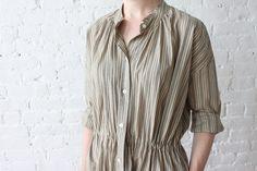 Caron Callahan Liv Dress Cotton Stripe