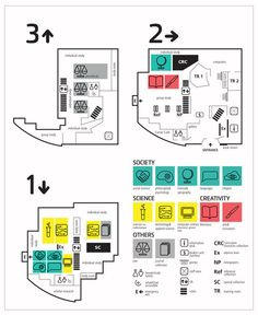 Library Wayfinding by Lynn Schiltz, via Behance