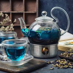 Tea Warmer, Heat Resistant Glass, Glass Teapot, Flower Tea, Tea Art, Tea Ceremony, Decoration Table, Tea Recipes, Afternoon Tea