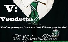 slytherin alphabet u - Google Search