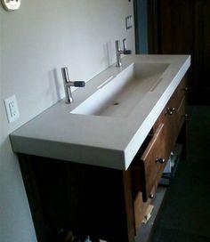 Custom Made Custom Concrete Sinks