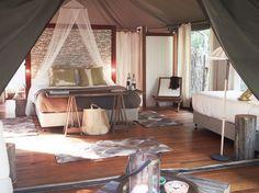 King Deluxe Safari Tent