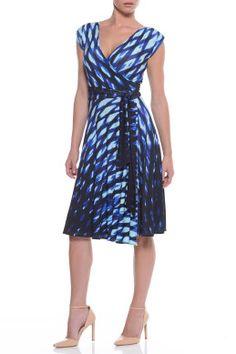 Sacha Drake Elsie Wrap Dress - Womens Knee Length Dresses at Birdsnest Women's Clothing