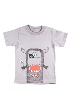 Creatures & Features 'Create Your Own Monster' Organic Cotton T-Shirt (Toddler Boys, Little Boys & Big Boys) available at #Nordstrom