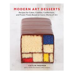 Taking cues from modern art's most revered artists, these twenty-seven show stopping desserts exhibit the charm and sophistication of works by Andy Warhol, Cindy Sherman, Henri Matisse, Jeff Koons, Roy Lichtenstein, Richard Avedon, Wayne Thiebaud and more. Featuring an image of the original artwork alongside a museum curator's perspective on the original piece and detailed, easy-to-follow directions (with step-by-step assembly guides adapted for home bakers),