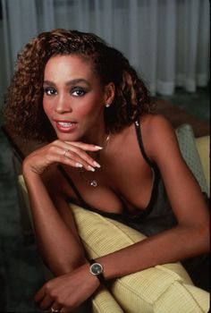 "Whitney Houston would have been 50 years old today. She was born August 9, 1963 in Newark, NJ and this photo was taken by Mariane Barcellona in 1985. What is your favorite Whitney song of all time? I believe ""Saving All My Love For You"" still holds the record for me."
