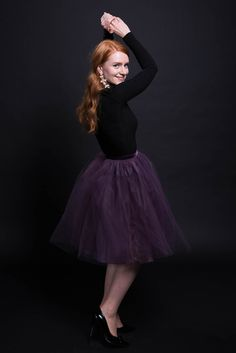 Must have tulle skirt! Sew it yourself! Tutorial in #sisterMAG22. Outfit by @evin