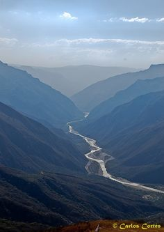 Parque Nacional del Chicamocha in Santander, Colombia-region of the country that my family is from