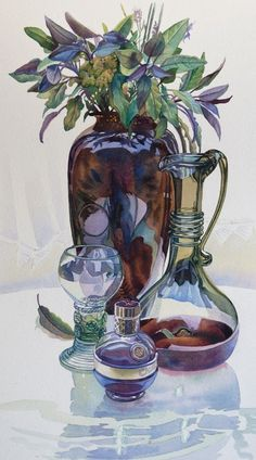 Gillian Marklew — Still Life with Sage, 2012 (668×1202)