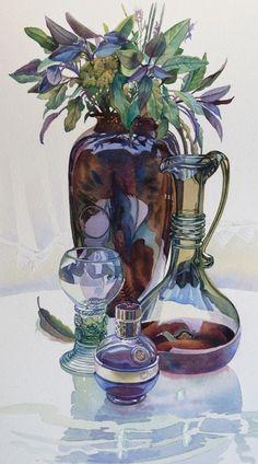 Gillian Marklew  — Still Life with Sage,  2012 (668×1202)