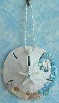 Embellished sand dollar