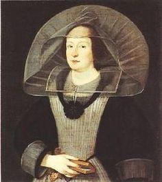 Maria Gonzaga of Mantua - (1609-1660) wife of Charles of Gonzaga-Nevers