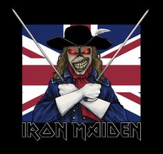 Iron Maiden - Maiden England 2012 by neollus on DeviantArt Heavy Metal Bands, Scorpions Albums, Iron Maiden Mascot, Evil Pictures, Iron Maiden Posters, Eddie The Head, Extreme Metal, Fantasy Comics, The New Wave