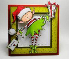 Elizabeth Allan's Art Studio: An Elf Present
