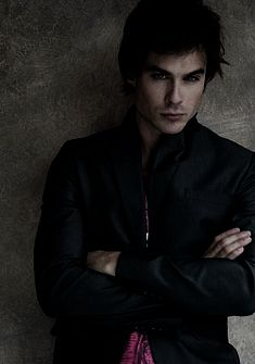 Ian Somerhalder aka Damon Salvatore on TVD and humanitarian/environmentalist. Great actor and animal rights supporter.
