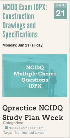NCIDQ Exam IDPX: Construction Drawings and Specifications