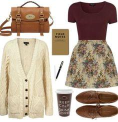 Hipster Fall outfit