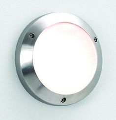 The Toronto 170 G9 Round Exterior Wall and Ceiling Light with a Polished Aluminium Finish. Astro 0844