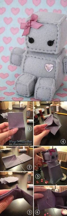 Robot Plush DIY Tutorial