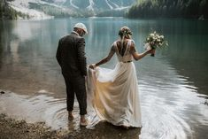 What a perfect Shooting Location. pc: blitzkneisser Foto Dress: Catherine Deane via I am Yours realbride: Frau Baumann What a perfect Shooting Location. pc: blitzkneisser Foto Dress: Catherine Deane via I am Yours realbride: Frau Baumann Civil Wedding Dresses, Designer Wedding Gowns, Bohemian Wedding Dresses, Catherine Deane, Plus Size Wedding, Princess Wedding, Wedding Shoot, Wedding Ideas, Beautiful Bride