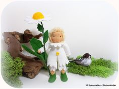 Margerite+Blumenkinder+Jahreszeitentisch+von+Susannelfes+Blumenkinder++auf+DaWanda.com