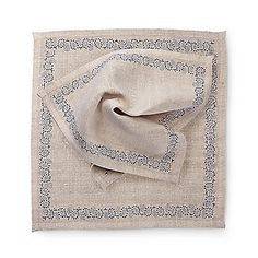 Bauernleinen-Servietten, 2er Set Towel, Dinner Napkins, Weaving, Diy