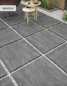 Terrace Garden Design, Garden Deco, Small Backyard Gardens, Small Backyard Landscaping, Backyard Projects, Backyard Patio Designs, Paver Designs, Backyard Makeover, Concrete Patio