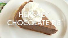 HERSHEY CHOCOLATE PIE - Butter with a Side of Bread Zucchini Bars, Zucchini Cookies, Zucchini Bread, Hershey Chocolate Pie, Chocolate Pies, Chocolate Caramels, Stroganoff Recipe, Beef Stroganoff, Vanilla Jello