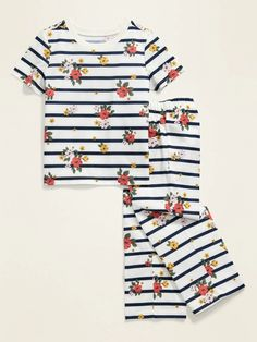 Graphic Pajama Set for Toddler Girls  Baby | Old Navy