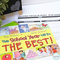 Back To School interactive read aloud: This School Year will be the best.