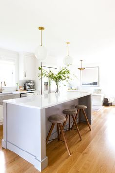 the coco kelley kitchen remodel reveal   white light open modern farmhouse kitchen
