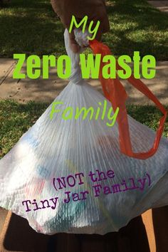 No tiny jars of trash here! We are a normal, busy family just like you - here's how we make zero waste easy!