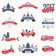 Merry Christmas and New Year Banners with Labels vector - https://www.welovesolo.com/merry-christmas-and-new-year-banners-with-labels-vector/?utm_source=PN&utm_medium=welovesolo59%40gmail.com&utm_campaign=SNAP%2Bfrom%2BWeLoveSoLo