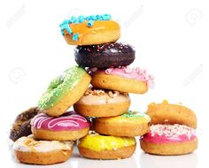 Mmmm, donuts and blow-jobs. Cosmo shares another delicious way to sweeten things up between the sheets. Not ready for a donut BJ this hump day? Our vintage Frisky Friday gives you a few other sweet. Donut Images, Meal Calendar, Cocina Natural, Bagel Sandwich, National Donut Day, Baked Doughnuts, Delicious Donuts, Diy Food, Hot Dog Buns