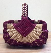 Anne Bowers CLASS - Sq Ribbed Basket - May 21st - 24th, 2014 - www.countryseat.com