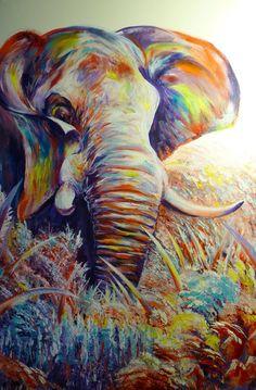 Elephant #9 by ArtbyjoelK on deviantART