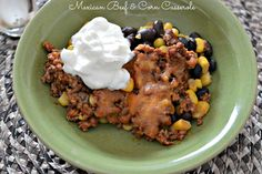 Country Crock Casserole Club - Mexican Beef & Corn Casserole - Giveaway - Blog - @Tammy Litke