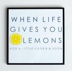 Katie Kime   Life & Lemons Gallery Print