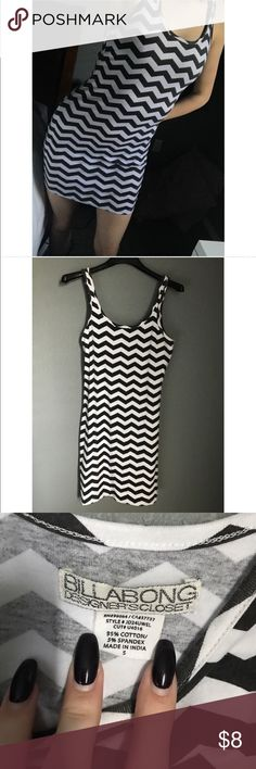 Billabong tight tank dress Worn once or twice nothing wrong with it Billabong Dresses Mini