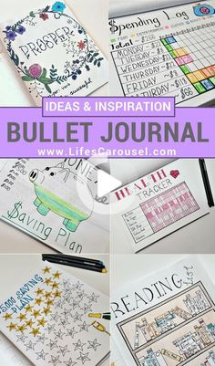 A selection of Bullet Journal Inspiration spreads & trackers. Everything from weight loss trackers to Winter Wishlists! Get your life organized with these Bullet Journal Ideas. #bulletjournalideas Bullet Journal For Beginners, Bullet Journal Hacks, Bullet Journal Printables, Bullet Journal How To Start A, Journal Template, Bullet Journal Spread, Bullet Journal Layout, Bullet Journal Ideas Pages, Bullet Journal Inspiration