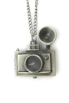 Vintage Camera Necklace